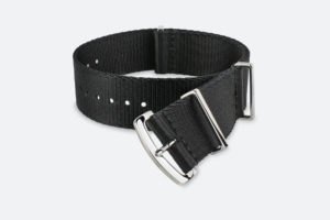 Premium Black MORA NATO Watch Strap