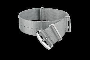gray MORA nato-style watch strap