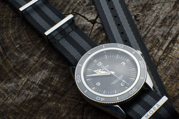 mora nato bond style on omega seamaster 300